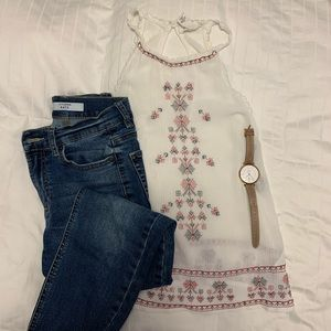 Forever 21 Halter Tank with Boho Vibes